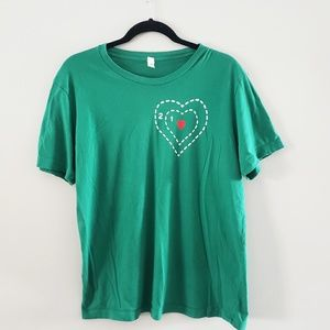 Emerald Green Unisex Grinch Inspired T-Shirt